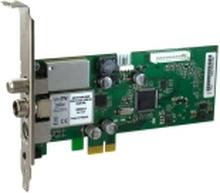 Hauppauge WinTV HVR-5525 - Digital / analog TV tuner / radiotuner / videooptagelsesadapter - DVB-C, DVB-S2, DVB-T2 - HDTV - PCIe lavprofil - SECAM, P