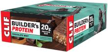 CLIF Bar Builder's Protein Bar Box 12 x 68g Chocolate Mint 2020 Näringstillskott & Paket