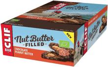 CLIF Bar Nut Butter Energy Bar Box 12 x 50g Chocolate Peanut Butter 2020 Näringstillskott & Paket