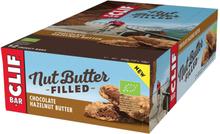 CLIF Bar Nut Butter Energy Bar Box 12 x 50g Chocolate Hazelnut 2020 Näringstillskott & Paket