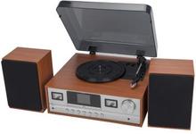 Denver: Retro Music System TT/BT/DAB+/FM/CD 2x5W