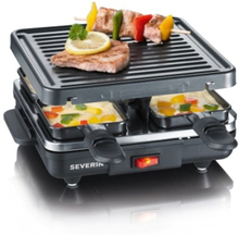 Severin Mini Raclette-grill, 4 pannor
