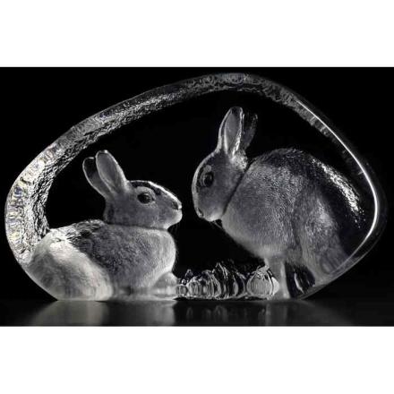 Målerås Glasbruk - Kaniner
