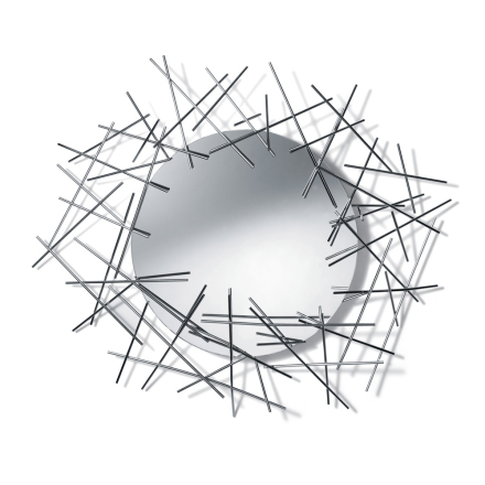 Blow Up Veggspeil, 74,5x86,5 cm
