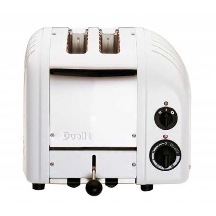 Dualit - Vario Classic Brødrister 2-Skiver, Hvit 220V