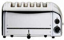 Dualit - Vario Classic Brødrister 6-Skiver, Orginal 220V