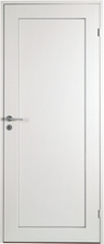 Innerdörr Öland - Massivt dörrblad 1:spegel Vit (standard) (NCS S 0502-Y)