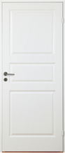 Innerdörr Gotland - Kompakt dörrblad med 3:spegel-indelning Vit (standard) (NCS S 0502-Y)