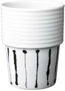 Rörstrand - Filippa K Kaffe/Te Krus, 31 cl, 2-pak, Ink Stripe
