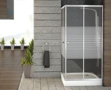 Square duschdörrar - 90x90x198 cm
