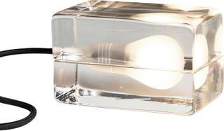 Design House Stockholm - Block Lampe, Sort Ledning