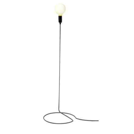 Design House Stockholm - Cord Lamp Sort/Hvid