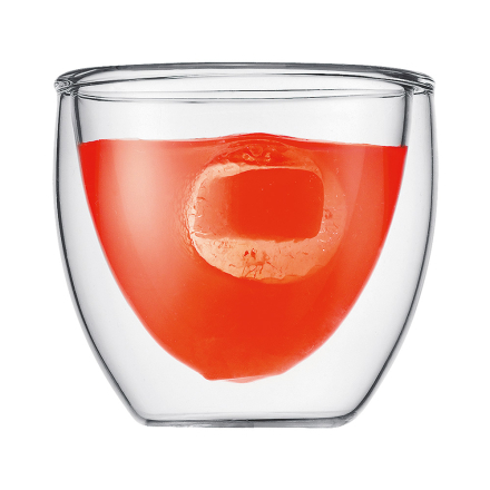 Bodum - PAVINA Dobbeltvægget Espresso Glas, 8 cl, 2 Stk