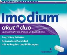 Imodium® akut N duo 6 St Tabletten