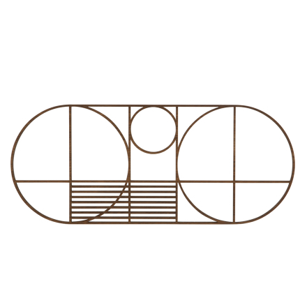 Ferm Living - Outline Oval Bordskåner