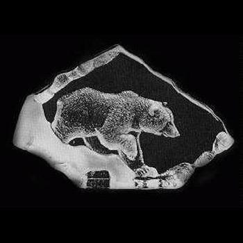 Målerås Glasbruk - Wildlife Brun Bjørn