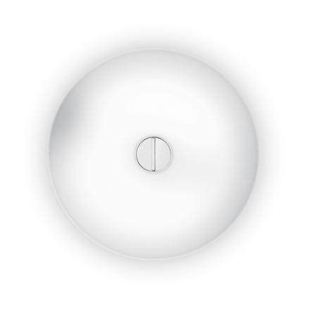Flos - Button Loft/Væglampe, Opal/Hvid