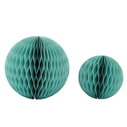 House Doctor - Paper Art Ornament 2-Pakk, Grønn