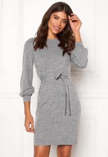Happy Holly Liz dress Grey melange 48/50