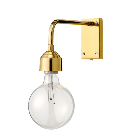 Bloomingville - Bloomingville Væglampe 40W, Guld