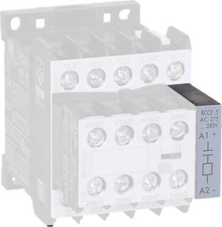 Varistor för kontaktorer 1 st VRC0-1 E49 WEG Serie: Weg Serie CWC07, Weg Serie CWC09, Weg Serie CWC12, Weg Serie CWC16, Weg Serie CWC25, Weg Serie CWCA0