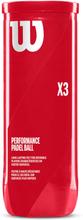 Padel X3 Ball 3-pack Rör