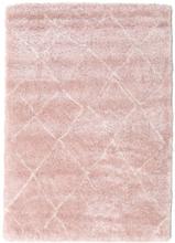 Shaggy Agadir - Soft Rose / Off-Vit matta 160x230 Modern Matta