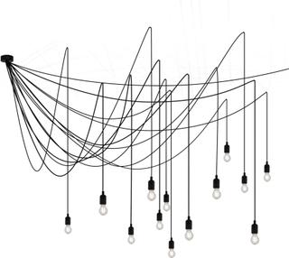 Seletti - Maman Loftslampe 14 dæmpbar, Frostet