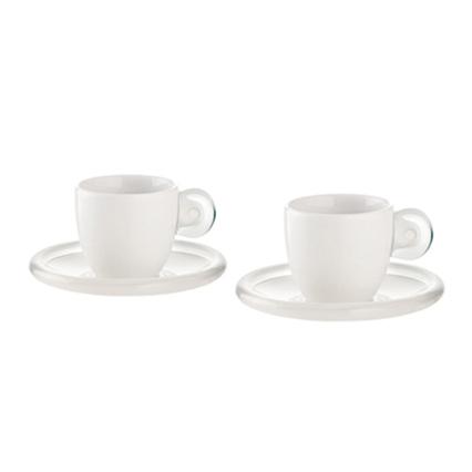 Guzzini - Espressokop 2-Pak, Klar