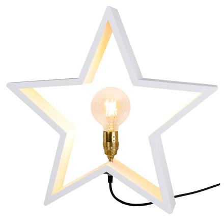 Star Trading - Lysekil Stjerne E27, Hvit