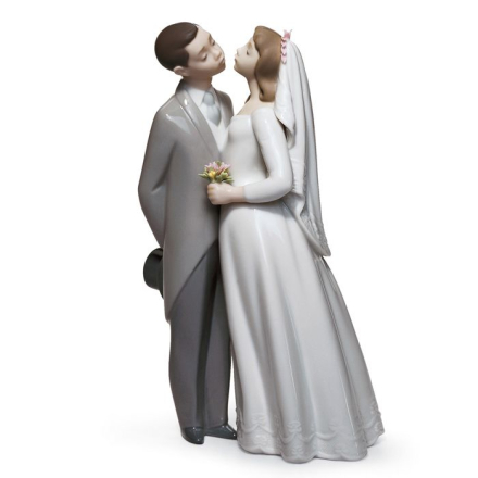 Lladro - A kiss to remember, Gres