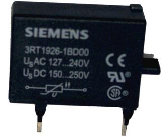 Siemens 3RT1926 1BD00 Varistor för kontaktorer 1 st Passar till: Siemens
