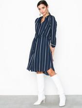 Selected Femme Slfdamina 7/8 Aop Dress Noos Byxor & Shorts Mörk Blå