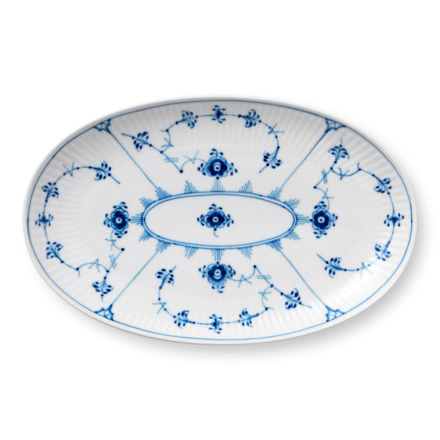 Royal Copenhagen - Blue Fluted Plain Serveringsfat 23cm