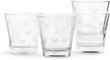 Sagaform - Butterfly Glas 4-Pak, Hvid