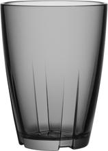 Kosta Boda - Bruk Tumbler Stor 2-Pak, Grå