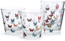 Sagaform - Butterfly Glas 4-Pak