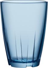 Kosta Boda - Bruk Tumbler Stor 2-Pak, Blå