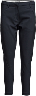 Angelie 238 Zip, Navy Jeggin, Pants Stramme Bukser Stoffbukser Blå FIVEUNITS