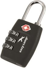 Easy Camp TSA Secure Lock , musta 2019 Matkalukot