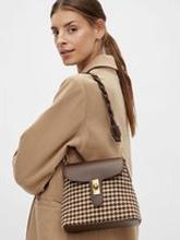 VILA Läderliknande Crossover-väska Kvinna Brun