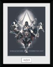 Assassin's Creed - Work In The Dark - Inramad bild - flerfärgad