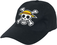 One Piece - Skull -Caps - svart