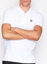 Lyle & Scott Plain Polo Shirt Pikeepaidat White