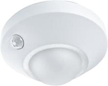 Ledvance Nightlux Ceiling taklampa med sensor, batteri, vit