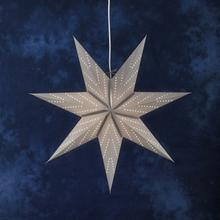 Konstsmide Pappersstjärna Silver Hängande 2955-300