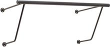 Hübsch bøjlestang sort metal - 51 cm