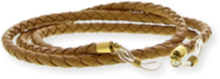 Eyewear string leather - Beige