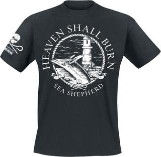 Heaven Shall Burn - Sea Shepherd Cooperation - For The Oceans -T-skjorte - svart