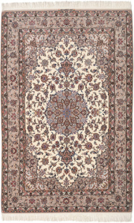 Isfahan silkerenning teppe 158x242 Persisk Teppe